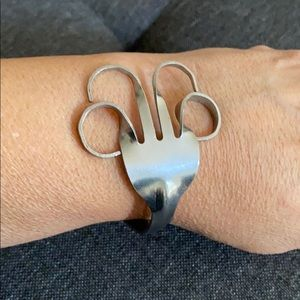 Jewelry - Unique FORK Bracelet •stainless steel•